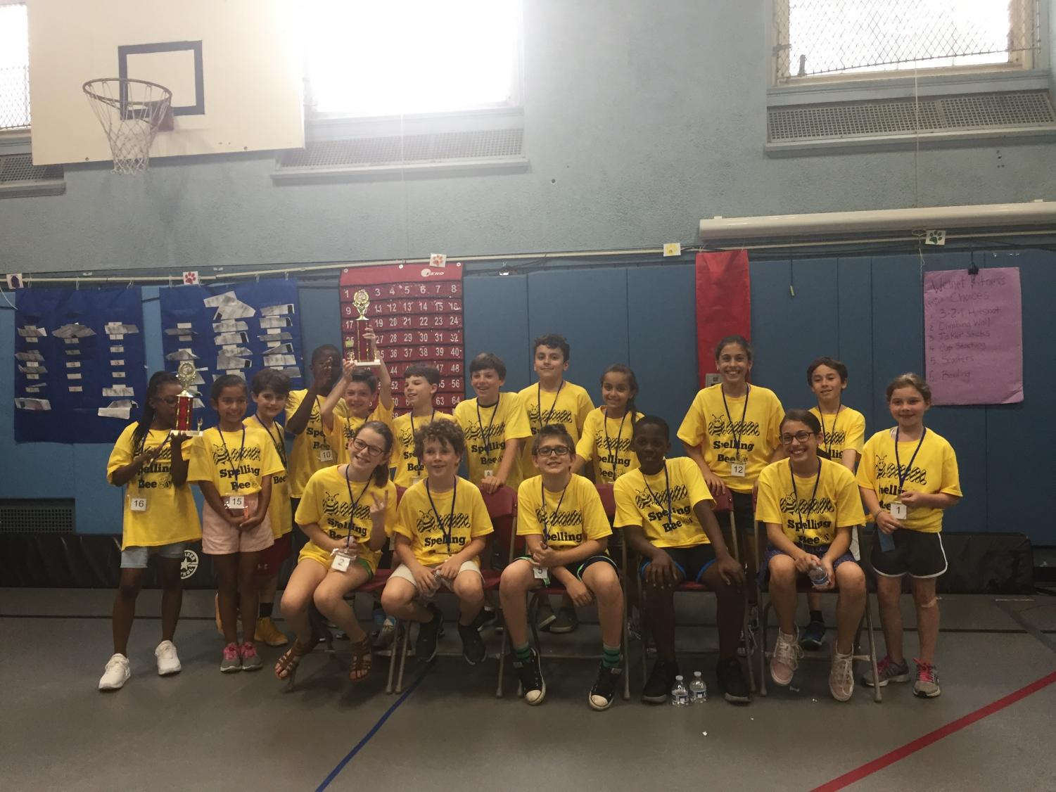 The 2018 Colonial Spelling Bee.