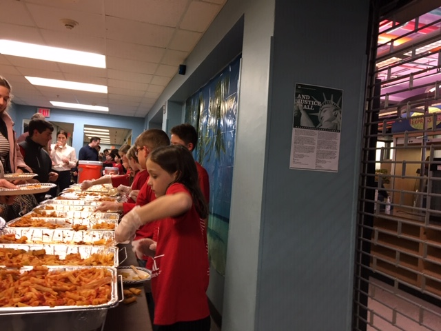 Pasta night big hit with all grades for food, fun, raffles (includes slideshow)