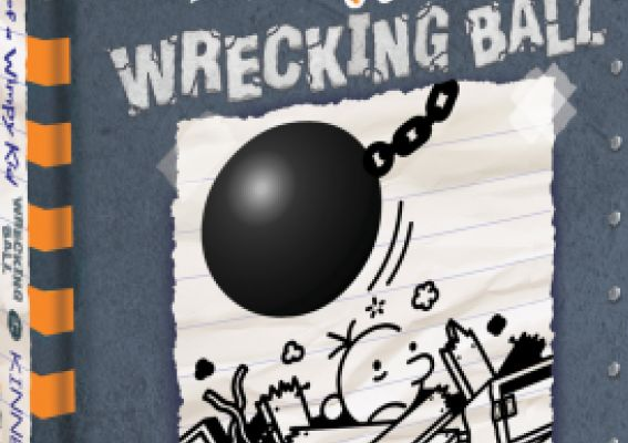 Smash hit Diary of a Wimpy Kid series is back with 'Wrecking Ball'