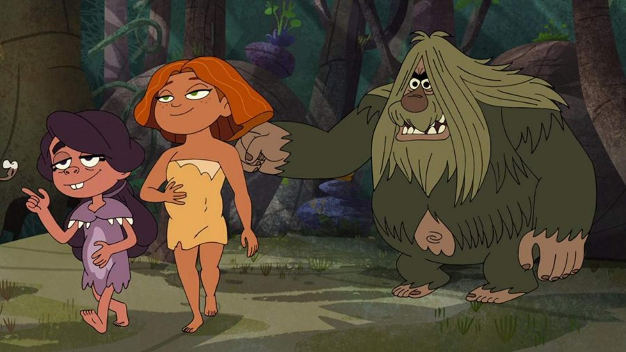 'Dawn of Croods' brings prehistoric family from movie to animated TV series