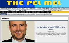 Nevan Malwana, associate editor-in-chief of Pel Mel, loves informing world about PMHS