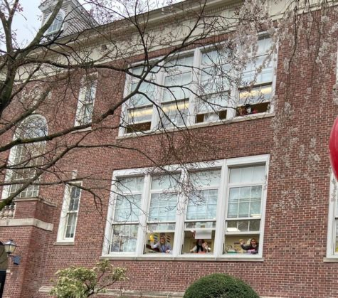 Colonial School returns to full in-person learning with clapping, music, spirit week—and everyone together